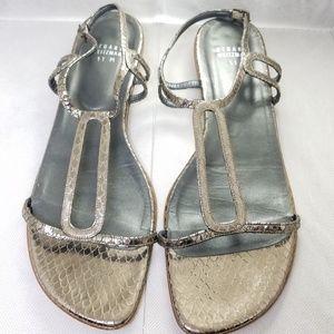 Stuart  Weitzman pewter sandal